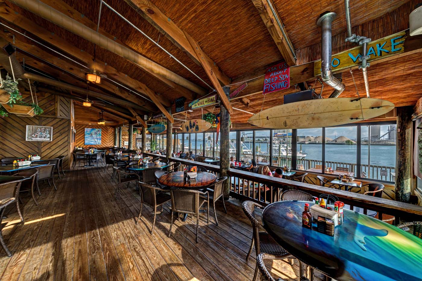 Grills seafood deck and tiki bar port canaveral florida - Grills seafood deck tiki bar ...