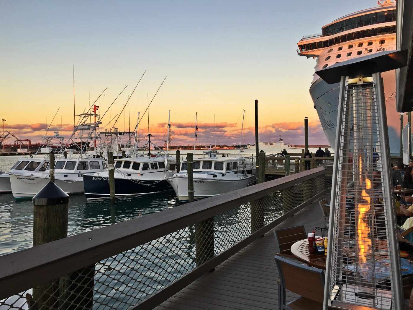 Brand New Overwater Waterfront Seafood Deck Restaurant View
