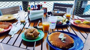breakfast at grills port canaveral new deck florida waterfront