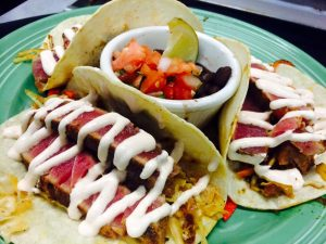 grills fish tacos tuna seared florida restaurants
