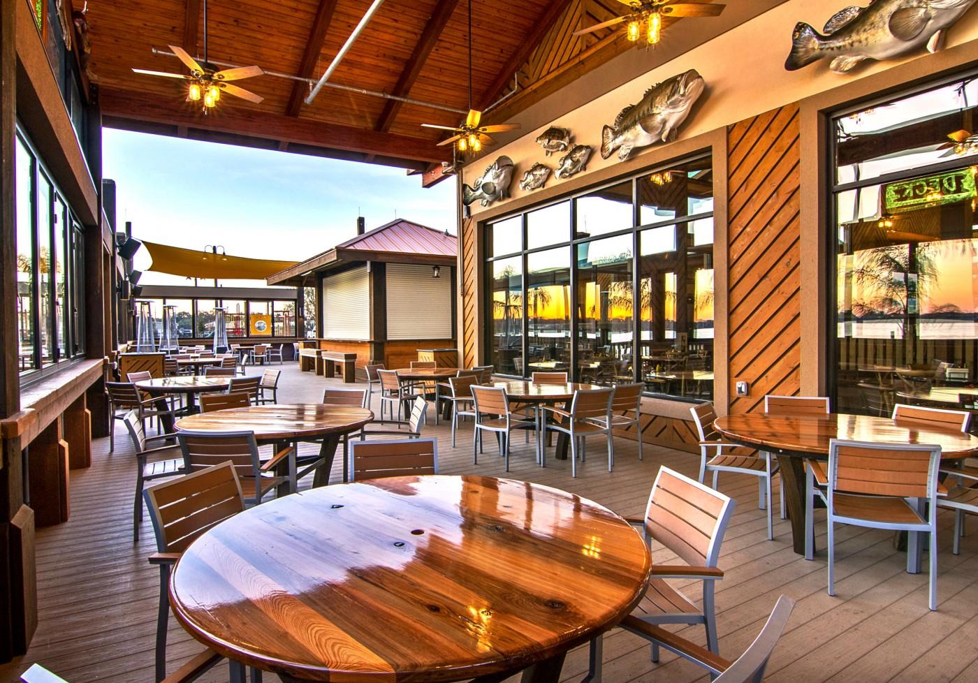 Waterfront Restaurant Orlando Experience The Florida
