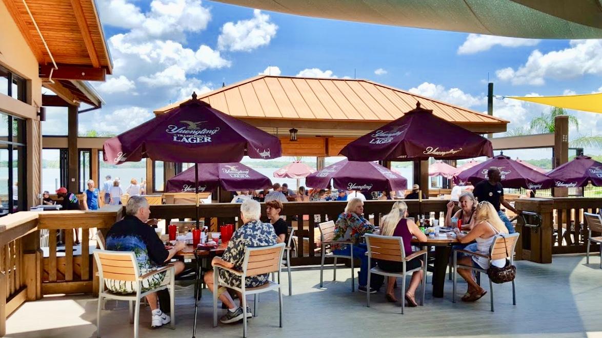 Outdoor Seating Florida Seafood Restaurant Best Orlando